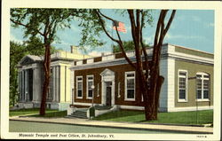 Masonic Temple And Post Office