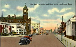 City Hall Post Office And Main Street