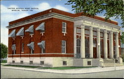 Unites States Post Office Postcard