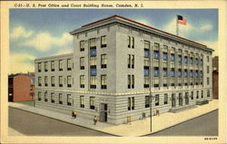 U. S. Post Office And Court Building House Postcard