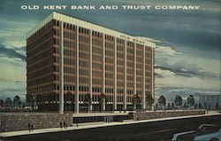 Old Kent Bank and Trust Company Postcard