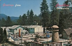 Greetings from Crestline, California Postcard