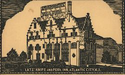 Milton Latz' Knife and Fork Inn Postcard