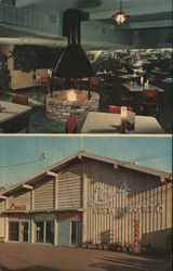 Lou;s Fish Grotto Postcard