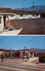 You'll Find Swiss Hospitality, A Scotchman's Paradise, American Courtesy at the Alpine Motel 2824 State St.
