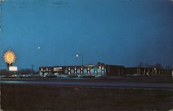 Quality Courts Motel of Madison Postcard