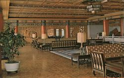 Second Floor Lounge, Chi-Lin Pavilion, Grand Hotel Postcard
