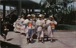 Panama Typical Dancers at El Panama Hotel Postcard
