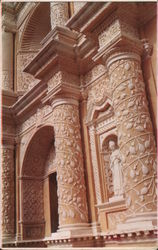 Ornamentation, La Merced Church Postcard