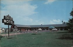 Topping's Motel Postcard