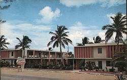 The Islander Apt.-Motel Postcard