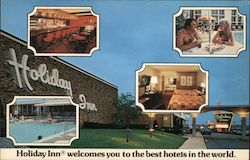 Holiday Inn welcomes you to the best hotels in the world. Postcard