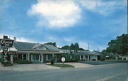 Colonial Inn Motel Postcard