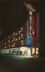 The Empress Motel Postcard