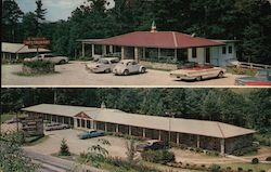 Parkview Motor Lodge & Restaurant Postcard