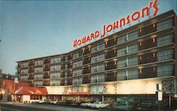 Howard Johnson's Atlantic City Postcard
