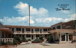Sea-Winds Motel Postcard