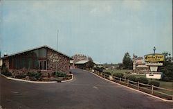Town House Motel Postcard