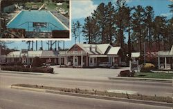Gov. Spottswood Motel Postcard