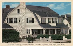 Summer Home of Senator Robert F Kennedy Postcard