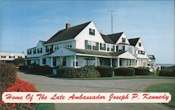 Home of The Late Ambassador Joseph P. Kennedy Postcard