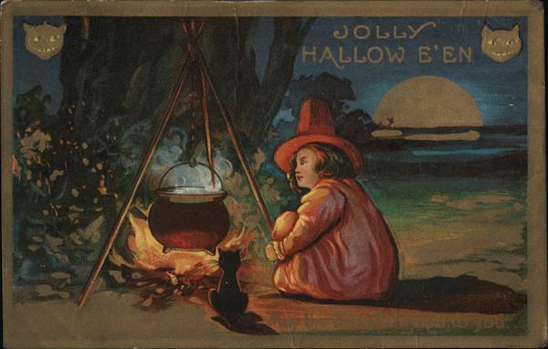 Jolly Hollowe'en Halloween