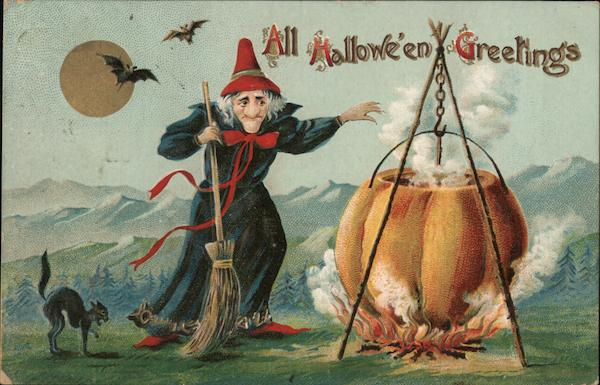 All Hallowe'en Greetings Halloween