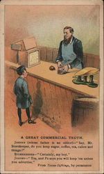 """Ariosa"" Coffee - A great commercial truth Trade Card"
