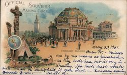 Ethnology Building, Pan-American Exposition 1901 Postcard