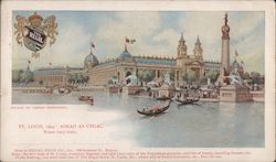 Palace of Varied Industries Postcard