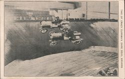 Two of Crazy Currans dare devil drivers Postcard