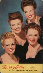 The King Sisters Victors Captivating Harmony Quartet