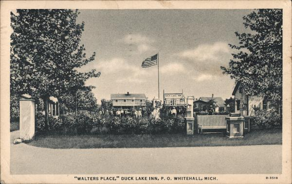 Walters Place, Duck Lake Inn Whitehall Michigan