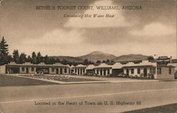 Bethels' Tourist Court Postcard