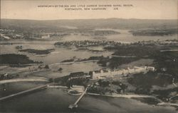 Wentworth-by-the-Sea and Little Harbor Showing Naval Prison
