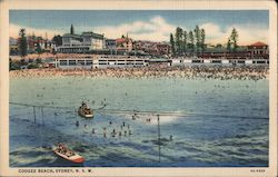 Cogee Beach Postcard