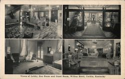 Views of Lobby, Sun Room and Guest Room, Wilbur Hotel