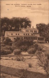 From the Garden, Thomas House and Camps Postcard