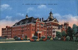 St. Joseph College and Academy Postcard