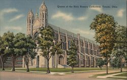 Queen of the Holy Rosary Cathedral Postcard