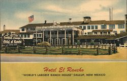Hotel El Rancho, World's Largest Ranch House