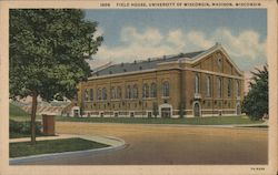 Field House, University of Wisconsin Postcard