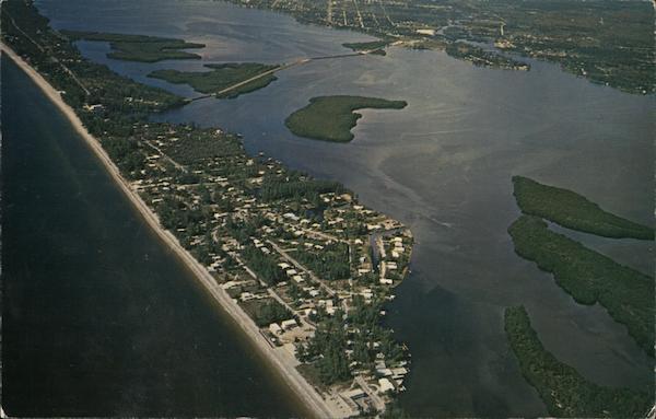 Punta Gorda Beach Englewood, FL Postcard