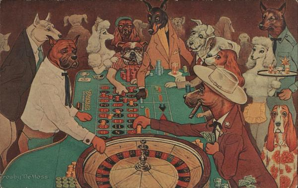 Roulette us an Exciting Game Dogs