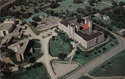 Aerial Photo of Marymount College Campus Postcard