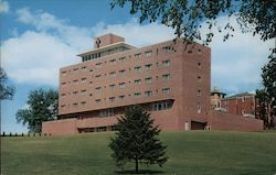 Mc Auley Hall, Mount Mercy College Postcard