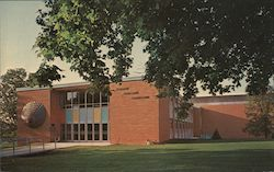 Dorman Memorial Gymnasium, Upper Iowa University Postcard