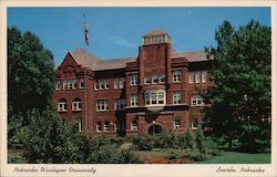 Nebraska Wesleyan University Postcard
