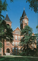 Auburn University Samford Hall, Main Administration Building, Erected in 1889