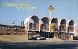 Gold Key Motel Postcard